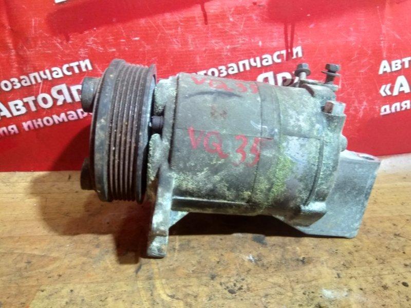 Компрессор кондиционера Nissan Murano PNZ50 VQ35DE 92600-CA010