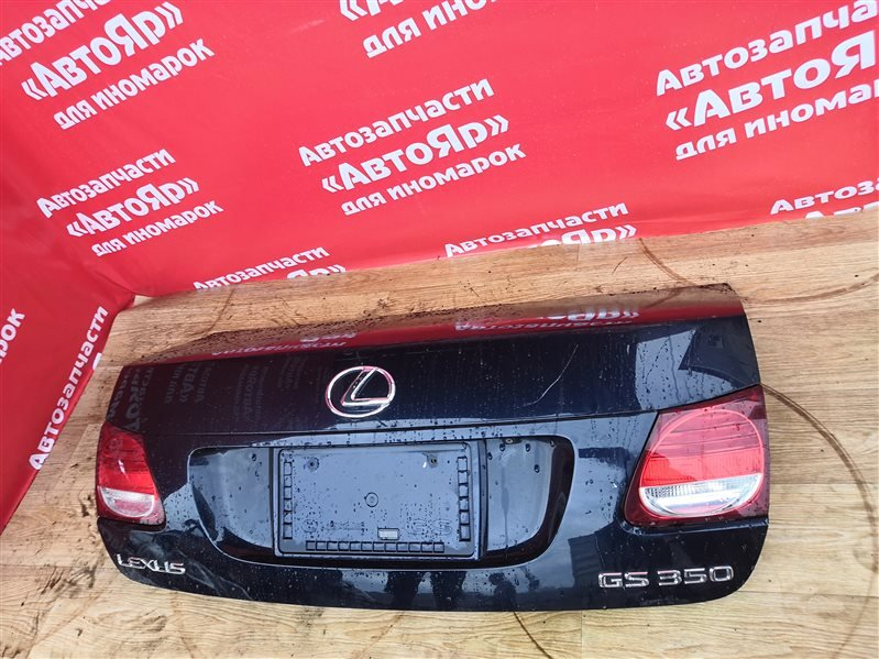 Крышка багажника Lexus Gs350 GRS191 2GR-FSE 2006.05