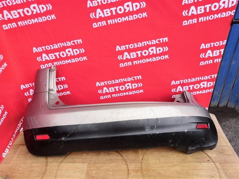 Бампер Nissan Note E11 HR15DE 2008.03 задний 2я модель, цена указана без планки под стоп.