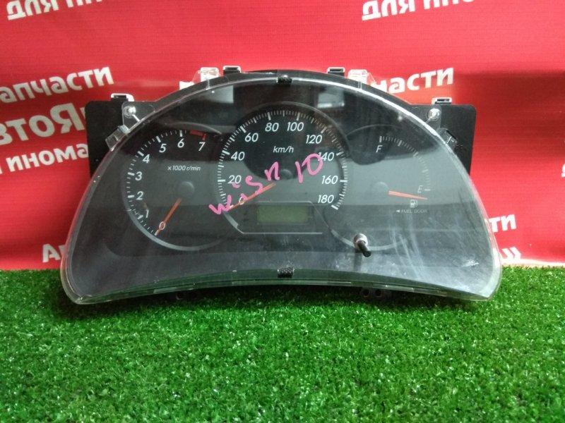 Комбинация приборов Toyota Wish ZNE10G 1ZZ-FE 2004.03 83800-68010/157520-9520