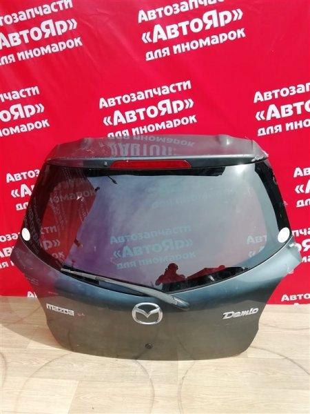 Дверь задняя Mazda Demio DE3FS ZJ-VE 2008.06 в сборе