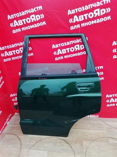 Стекло боковое Mitsubishi Dingo CQ2A 4G15 2000.02 заднее левое