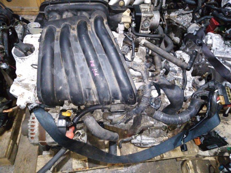 Двигатель Nissan Tiida C11 HR15DE 2004.12 цена без навесного, 98т.км.