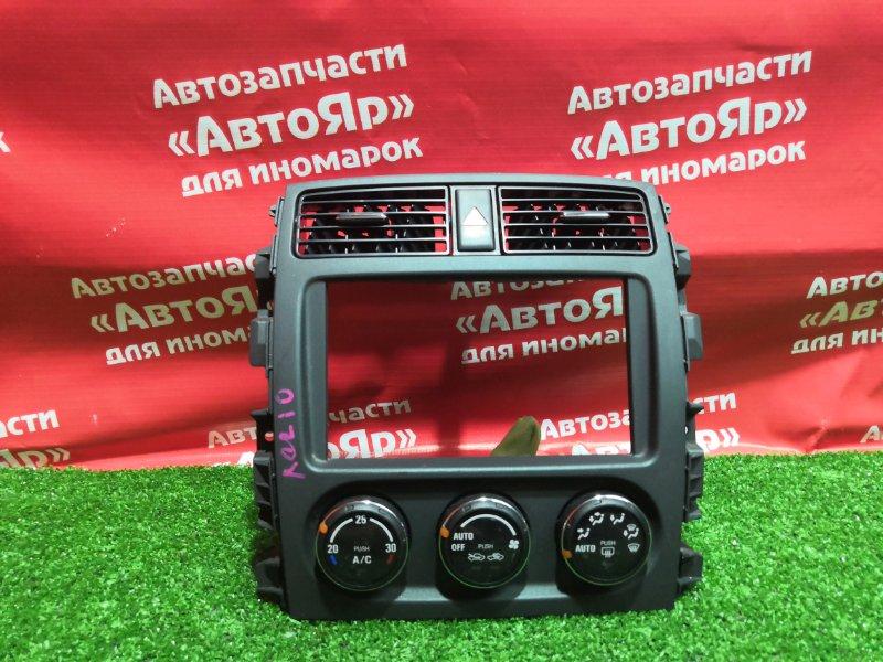 Блок управления климат-контролем Suzuki Aerio RD51S M18A 2005.08 39510-59J61