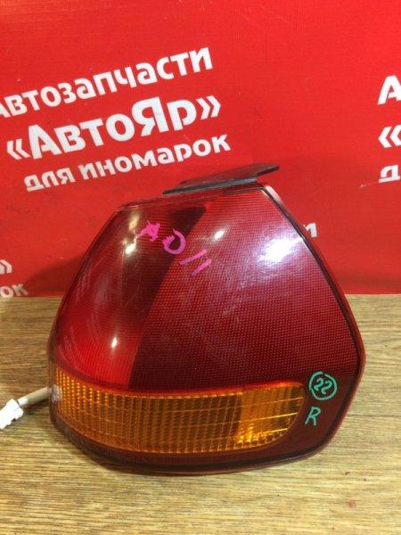 Стоп-сигнал Nissan Ad VFY11 QG15DE 2006.01 задний правый 220-24891
