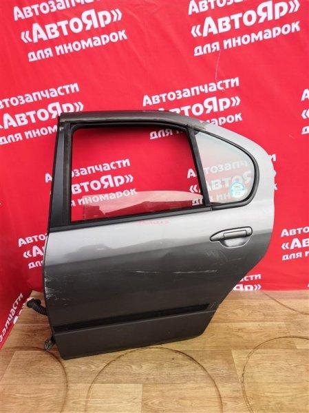 Дверь боковая Nissan Primera Camino P11 SR18DE 1997.10 задняя левая Седан, цена за голую, в сборе без