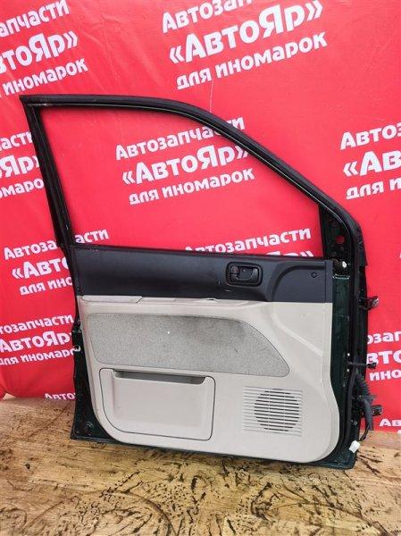 Дверь боковая Mitsubishi Dingo CQ2A 4G15 2000.02 передняя левая цена за голую, в сборе без петель 3100р.