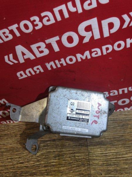 Блок переключения кпп Nissan Note E11 HR15DE 2008.03 31036-8Y26A