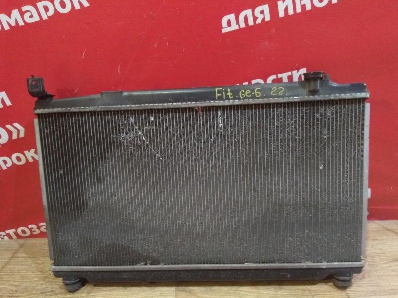 Радиатор основной Honda Fit GE6 L13A 2008 Дефект крепления.