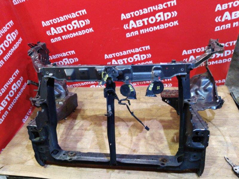 Рамка радиатора Toyota Noah ZRR75W 3ZR-FAE 2007.09 лев.25см., прав.27см., замок, сигнал
