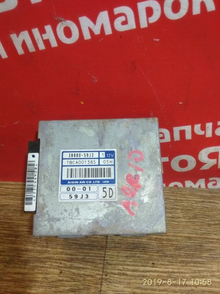 Блок переключения кпп Suzuki Aerio RD51S M18A 2005.08 38880-59J3
