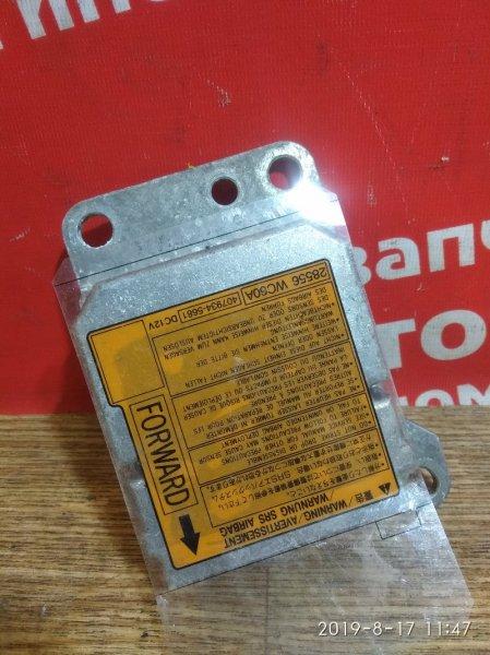 Блок управления airbag Nissan Ad VFY11 QG15DE 2006.01 28556 WC60