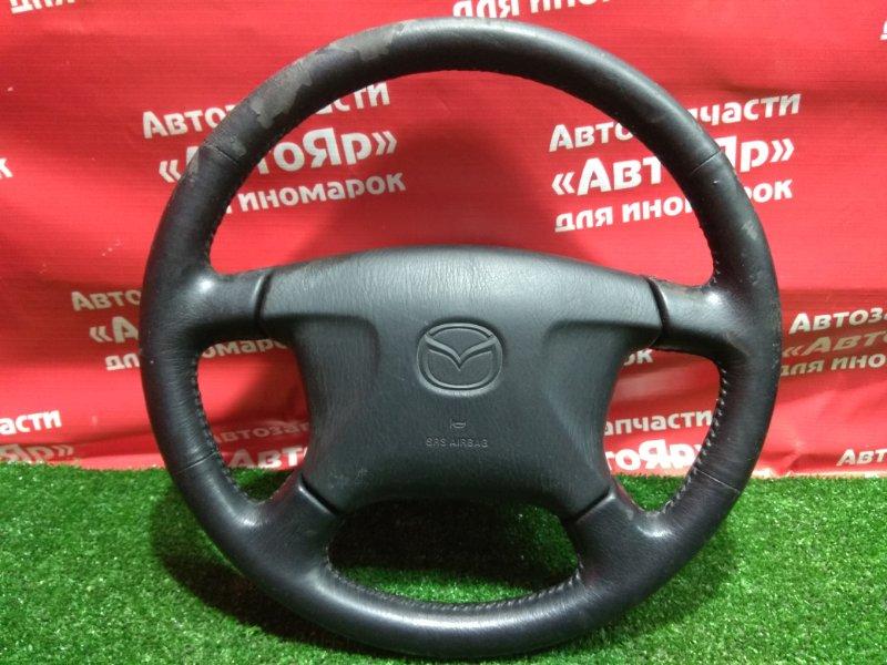 Airbag на руль Mazda Capella GFEP FS-ZE 1997.10 с патроном, руль кожа