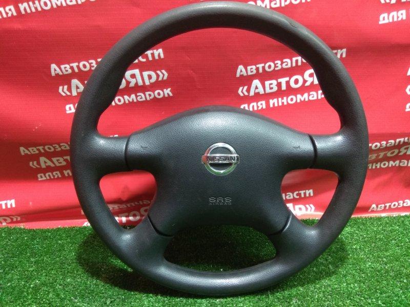 Airbag на руль Nissan Ad VFY11 QG15DE 2006.01 с патроном, руль