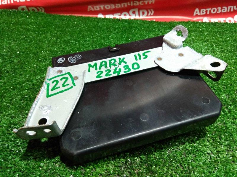 Блок управления abs Toyota Mark Ii JZX115 1JZ-GE 2001.04 89540-22430 / 079400-8153