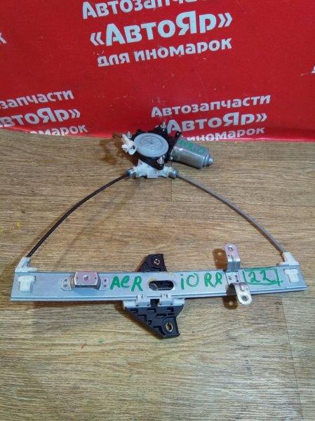 Стеклоподъемник Suzuki Aerio RD51S M18A 2005.08 задний правый