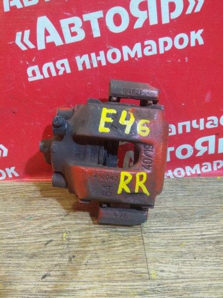 Суппорт тормозной Bmw 318I E46 M43 задний правый 5шп