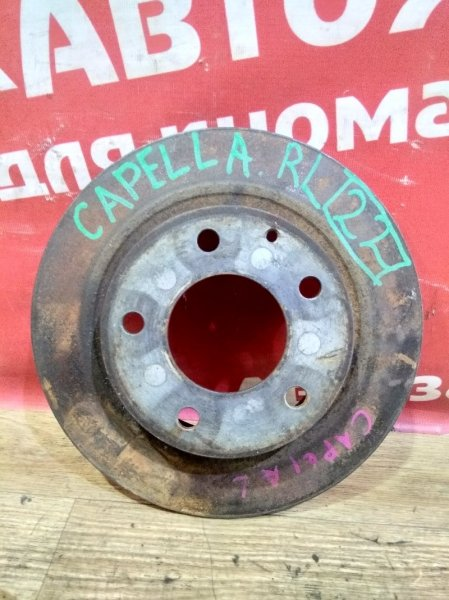 Диск тормозной Mazda Capella GFEP FS-ZE 1997.10 задний левый