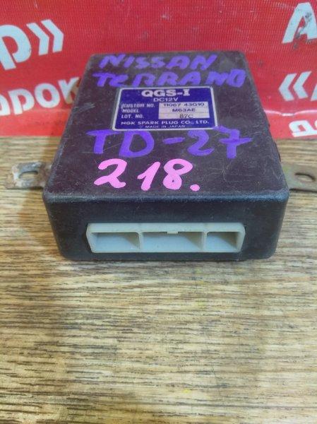 Блок управления Nissan Terrano D21 TD27 11067-43G10 блок управления свечами накала