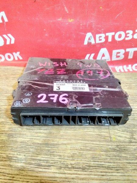 Блок управления abs Toyota Wish ZNE14G 1ZZ-FE 89540-68010