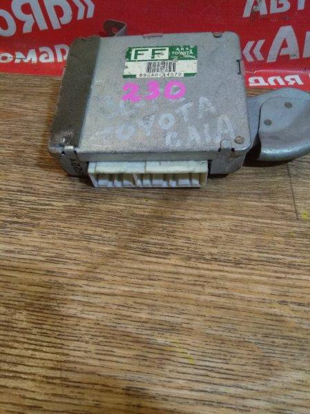 Блок управления abs Toyota Gaia SXM10G 3S-FE 89540-44070