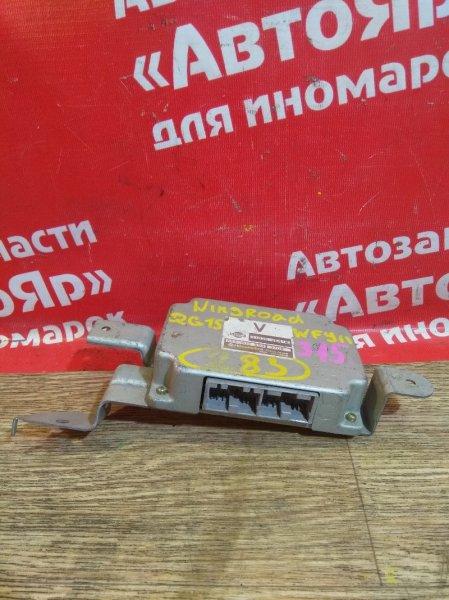 Блок переключения кпп Nissan Wingroad WFY11 QG15DE 31036 WE415
