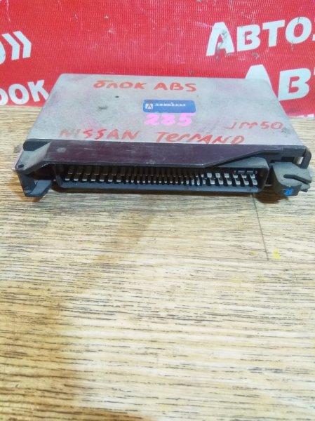 Блок управления abs Nissan Terrano JRR50 QD32ETI 47850-1W303