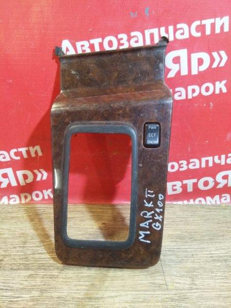 Накладка пластиковая в салон Toyota Mark Ii GX100 1G-FE консоль кпп 58804-22180