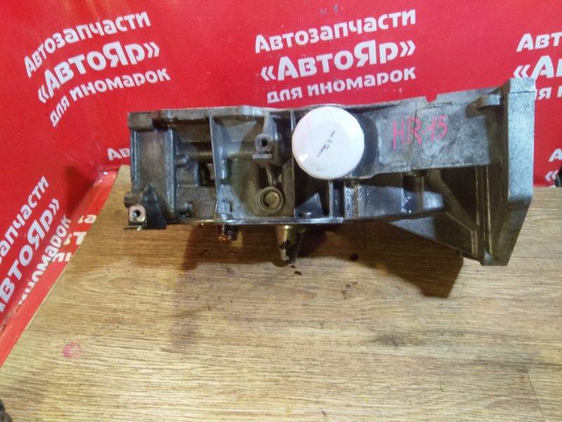 Поддон Nissan Tiida C11 HR15DE алюминевый