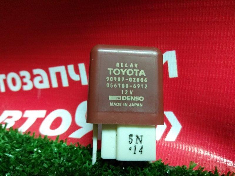 Реле Toyota реле TOYOTA 90987-02006