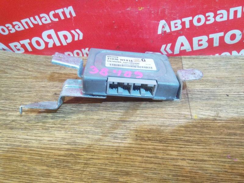 Блок переключения кпп Nissan Ad VFY11 QG15DE 2006.01 31036-WE91A