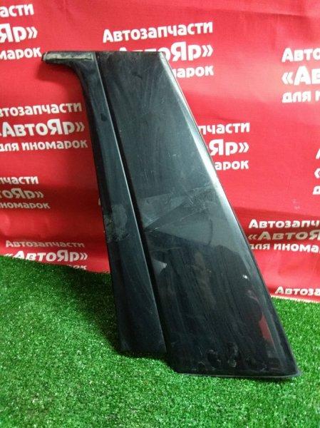 Накладка на дверь Subaru Forester SG5 EJ20 задняя левая чёрная
