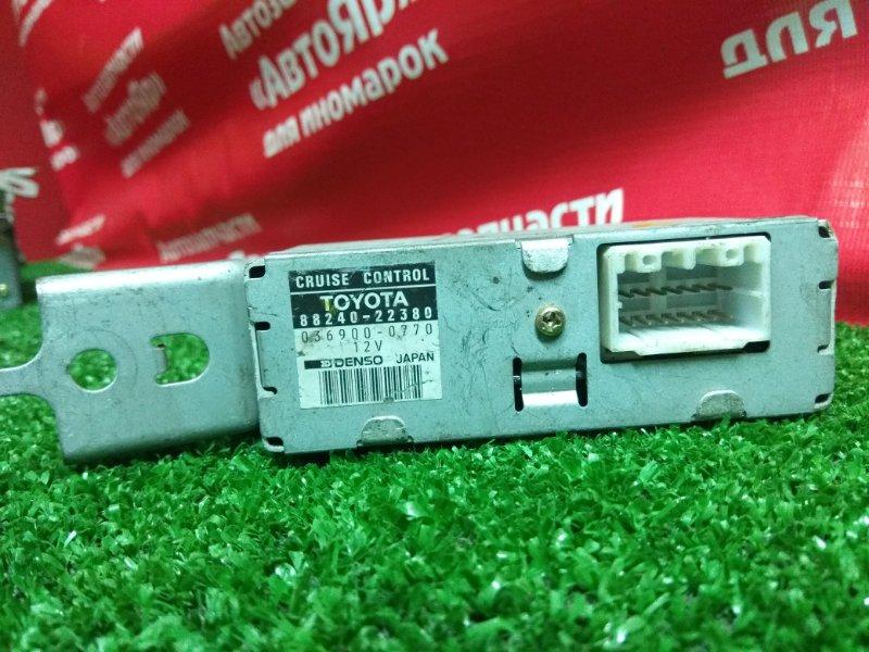 Блок управления Toyota Cresta GX100 1G-FE 88240-22380 круиз-контроль