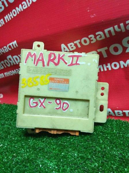 Блок управления кондиционером Toyota Mark Ii GX90 1G-FE 88650-22601