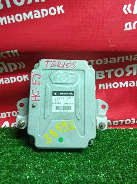 Блок управления efi Daihatsu Terios J100G HC-EJ 89560-87402
