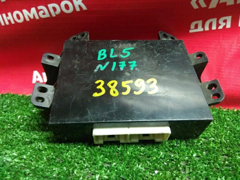 Блок управления кондиционером Subaru Legacy BL5 EJ20 72343AG001 блок управления печкой