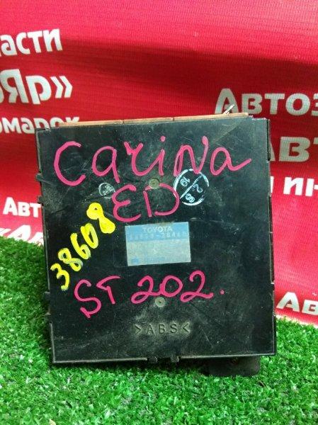 Блок управления кондиционером Toyota Carina Ed ST202 3S-FE 88650-2B460