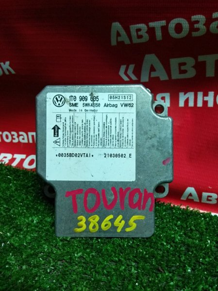 Блок управления airbag Volkswagen Touran 1TO909605 / 5WK43150