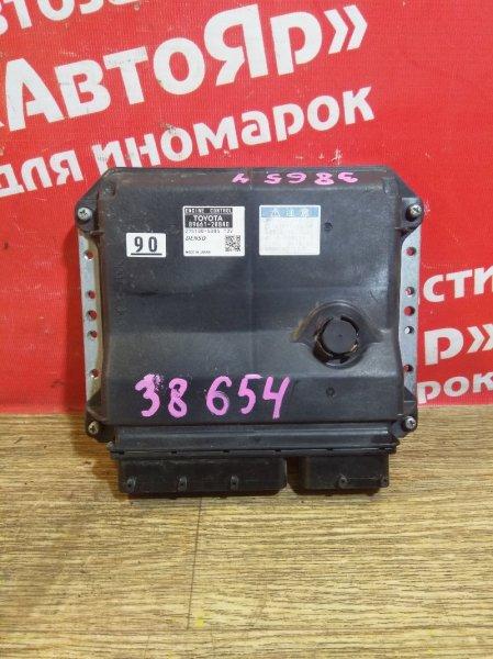 Блок управления efi Toyota Estima ACR50W 2AZ-FE 2006 89661-28B40