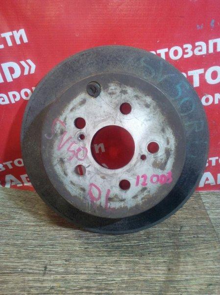 Диск тормозной Toyota Vista SV50 3S-FE задний