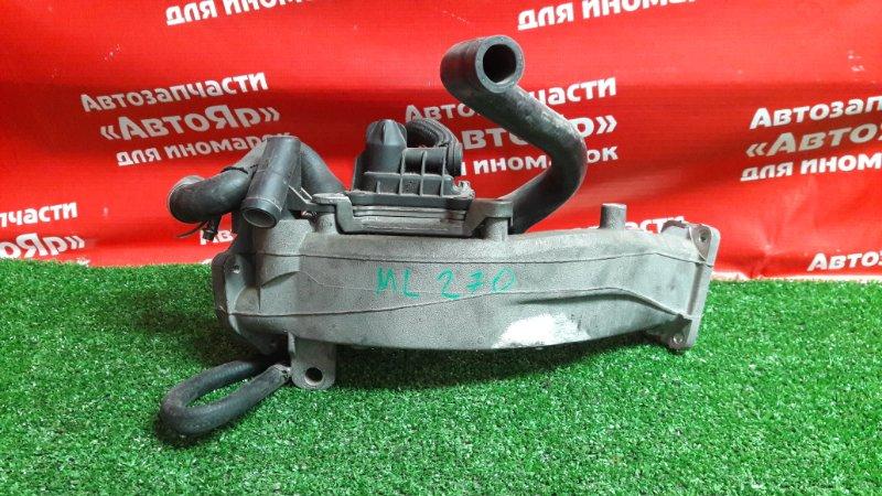Радиатор egr Mercedes Ml270 W163 OM612.963 A6121410104, A6120700211, A6110700179.