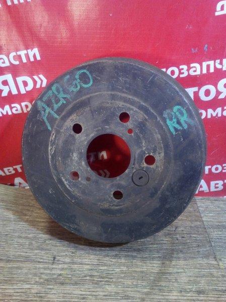 Тормозной барабан Toyota Voxy AZR60G 1AZ-FSE задний правый 5шп