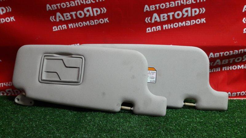 Солнцезащитный козырек Mitsubishi Dingo CQ2A 4G15 2000.02 2шт комплект