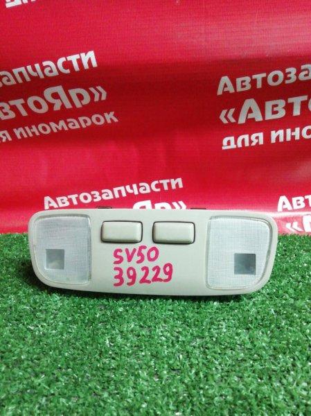 Плафон салона Toyota Vista Ardeo SV50G 3S-FSE 05.2000 передний