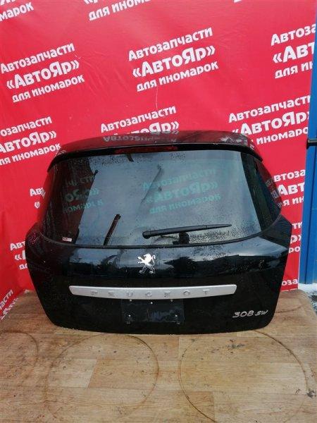 Дверь задняя Peugeot 308 EP6CDT 2010 Универсал