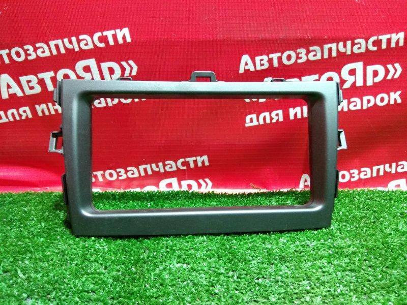 Рамка магнитофона Toyota Corolla Fielder ZRE142G 2ZR-FE 11.2006 5540512A30