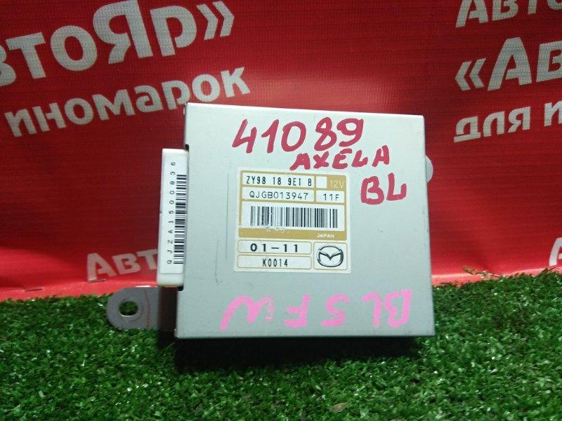 Блок переключения кпп Mazda Axela BL5FW ZY-VE 2011 zy98-18-9e1b