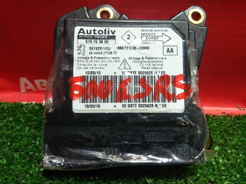 Блок управления airbag Peugeot 308 EP6CDT 2010 619763800