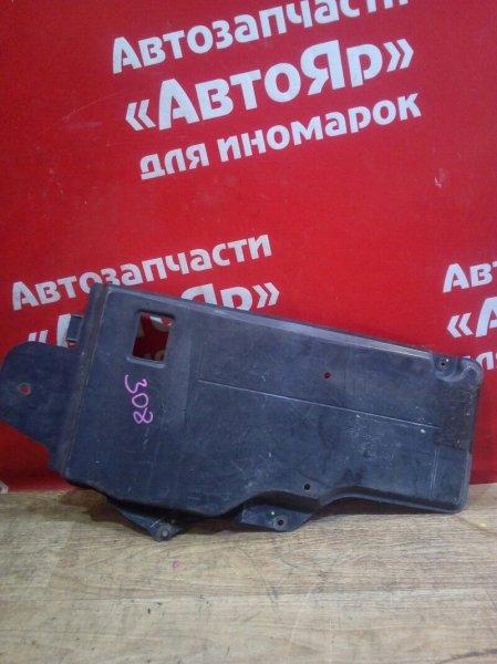 Защита двигателя Peugeot 308 EP6CDT 2010 9682712080, правая.