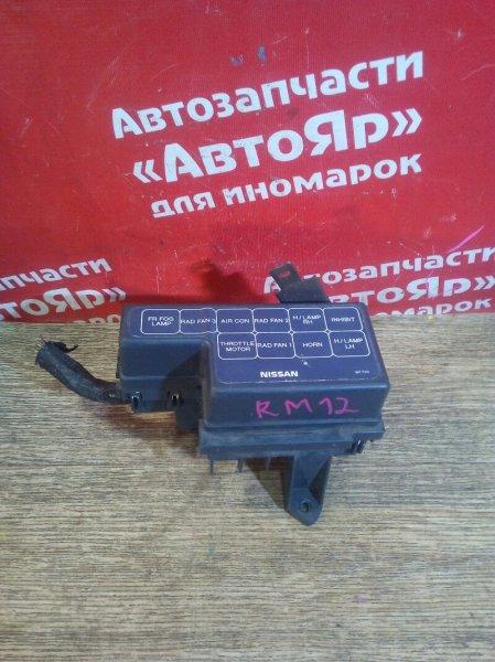 Блок предохранителей Nissan Liberty RM12 QR20DE 04.2002